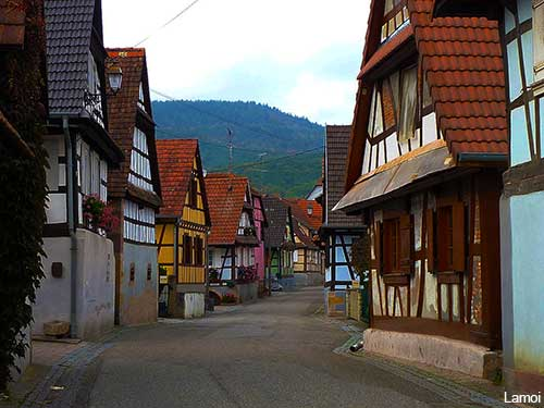 cleebourg an alsatian village in france