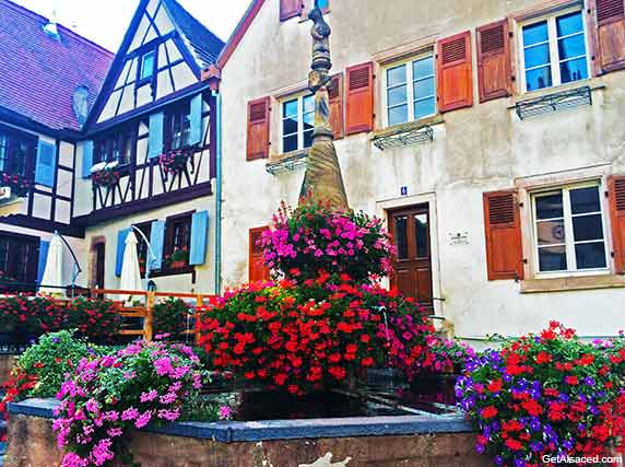 Dambach la Ville a small village in the Alsace region of France