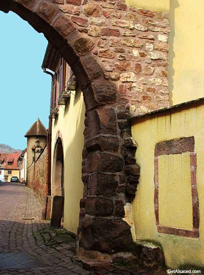 Gueberschwihr an Alsace village in France