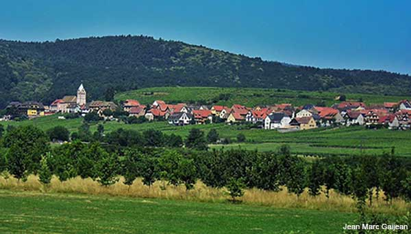 itterswiller a village in the alsace region of france