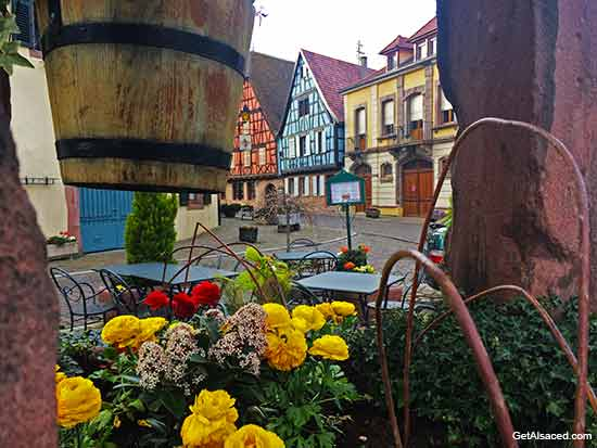 Kientzheim a small village in the Alsace region of France