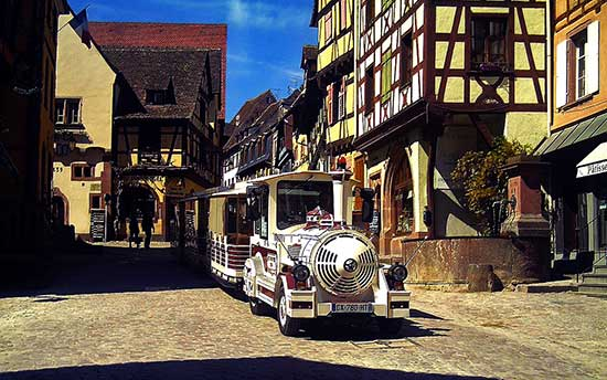 Riquewihr an alsace village in France