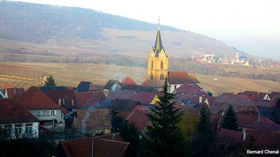 Rodern an alsace village in france