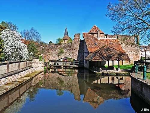 wissembourg in the alsace region of france