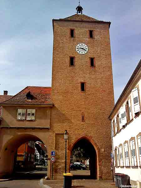 Haguenau a city in Alsace France
