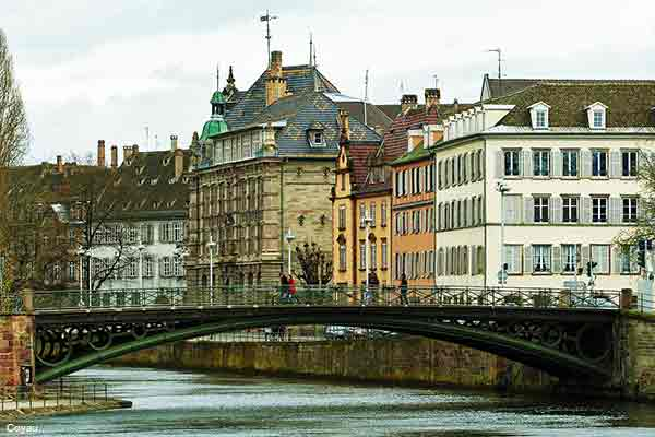 Strasbourg the largest city in Alsace France