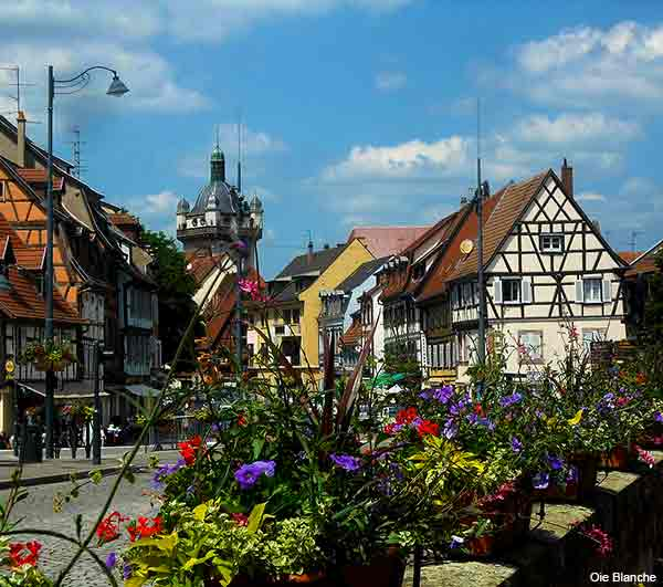 Selestat a town in Alsace France