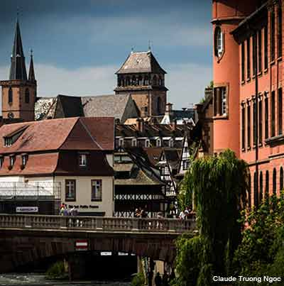 Alsace Towns in France